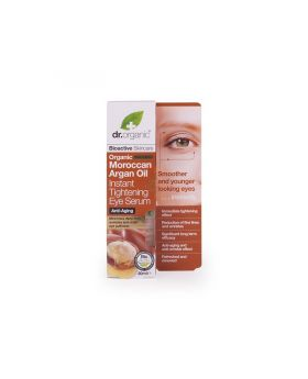 Dr. Organic Moroccan Argan Oil Instant Tightening Eye Serum