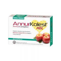 AnnurKolest HDL Integratore per il colesterolo 30 capsule