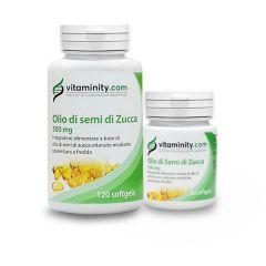 Vitaminity Olio di Semi di Zucca 500mg