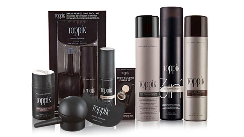 Toppik: soluzioni contro il diradamento dei capelli